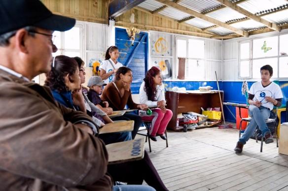Conociendo el modelo de voluntariado de TECHO Colombia