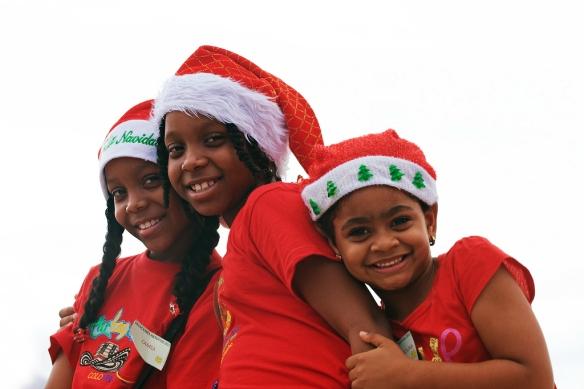 Foto niñas navidad