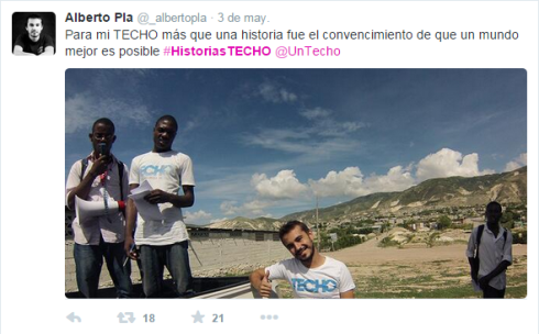 historia techo twitter